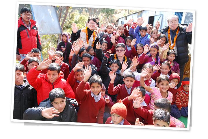 희망, 인도의 학교로 태어나다