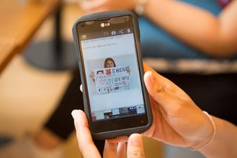 개인 페이스북을 통한 나만의 기아체험을 진행한 김지은 회원