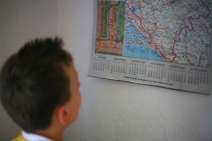 바다에 가본 적이 없다는 타리크는 지도에서 바다를 만난다.