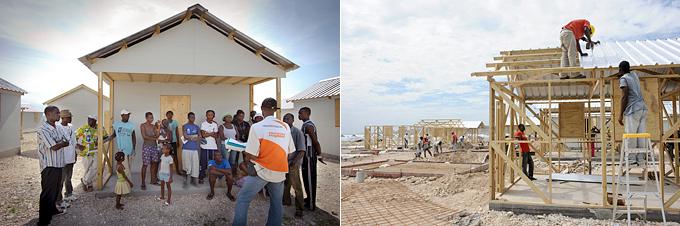 지진 2년차, 월드비전은 코라일 난민캠프를 건설하여 약 14,000명을 대상으로 반영구주택 2,700여 채를 제공했다.