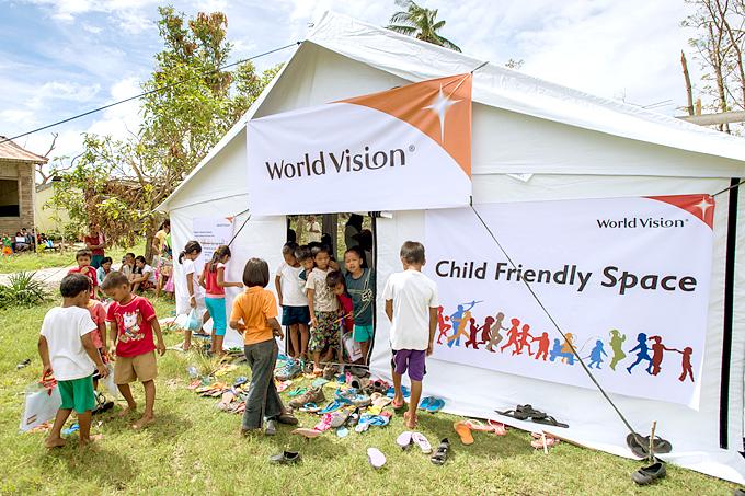 월드비전이 도움을 제공한 100만명 중 47만 3천명이 아이들이었다.