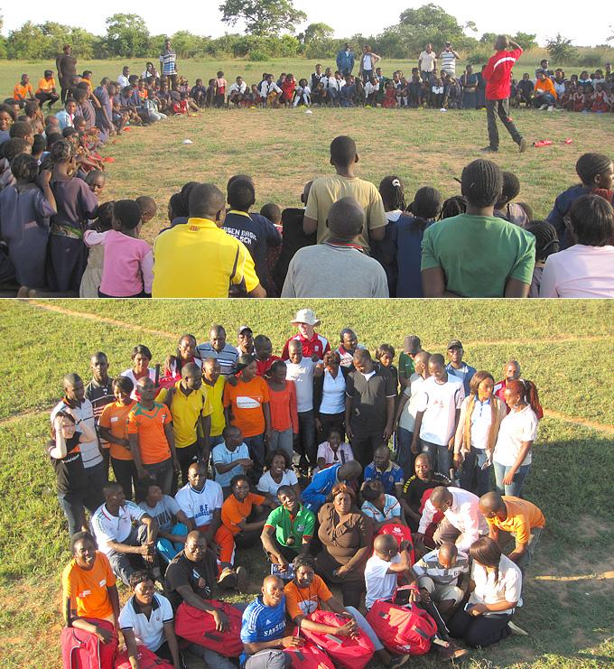 잠비아의 아동들의 건강하고 풍성한 삶을 위해 오늘도 열심히 잠비아 마을 곳곳을 지키는 우리 현장직원들을 응원해주세요.