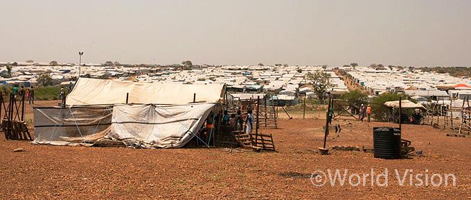 PoC3 (유엔 민간인 보호구역)의 모습