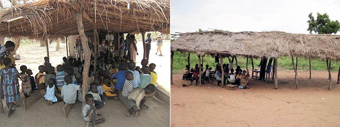보수소 마을은 열악한 교육시설마저도 부족한 상황입니다.