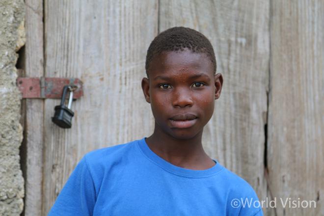 피에르(Pierre, 16세)의 모습(사진출처:월드비전)
