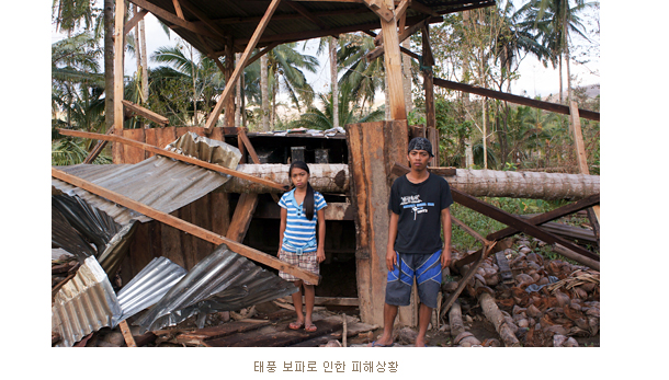 태풍 보파로 인한 피해상황