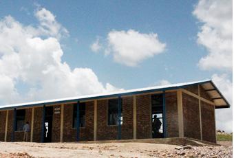 희망TV SBS를 통해 지은 부룬디 루레게야 희망학교
