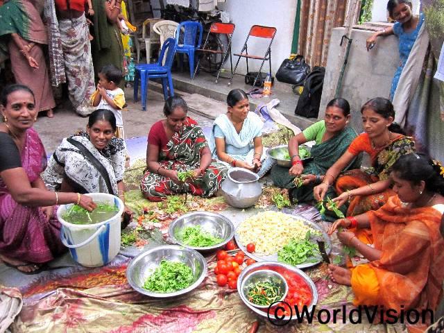 긴급 영양 캠페인년 사진