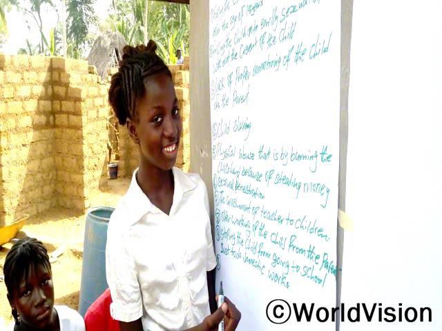 아이들은 아동보호 문제에 관심을 갖고, 관련한 모든 행사에 적극적으로 참여하고 있습니다.년 사진
